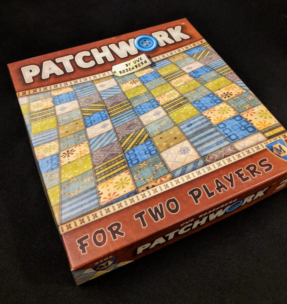 patchwork box cover